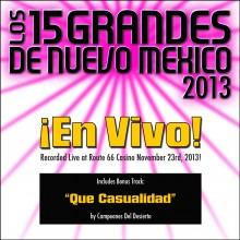 15-Grandes-2013-Live-cover